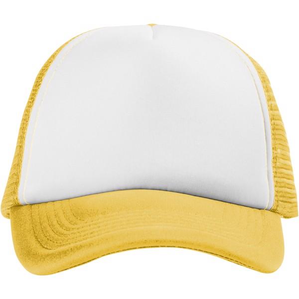 Trucker 5 panel cap - Yellow / White