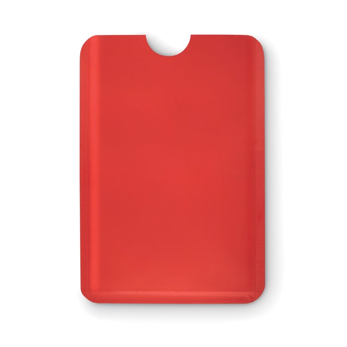Plastic RFID data  protector Guardian - Red