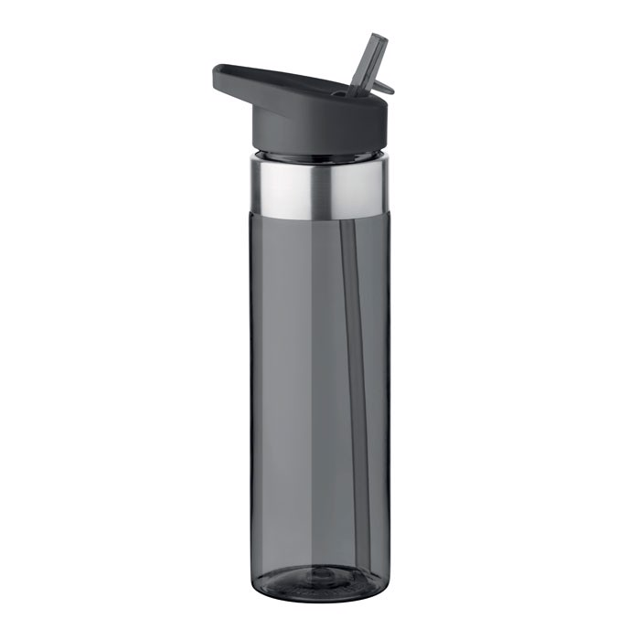 Tritanová láhev 650 ml Sicilia - transparent grey
