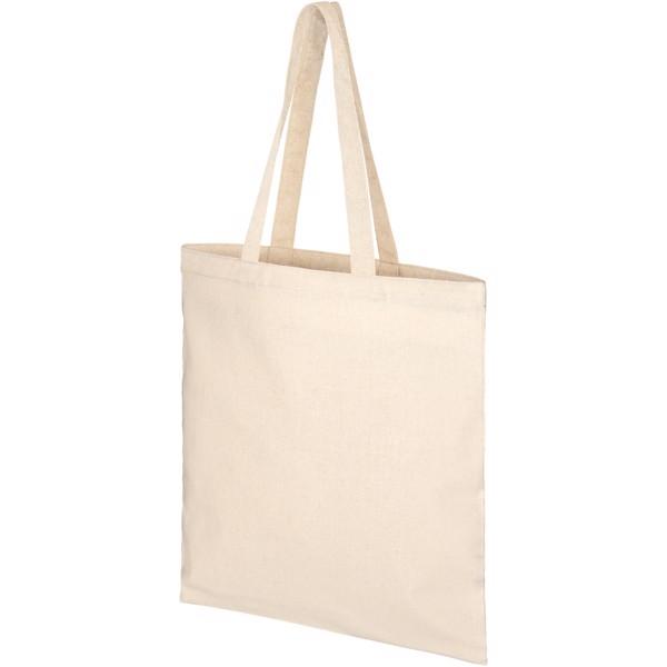 Pheebs nákupní taška ze směsi recyklované bavlny a polyesteru 210 g/m² - Přírodní
