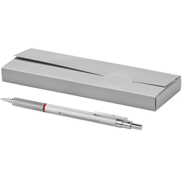 Kuličkové pero Rapid Pro - Stříbrný