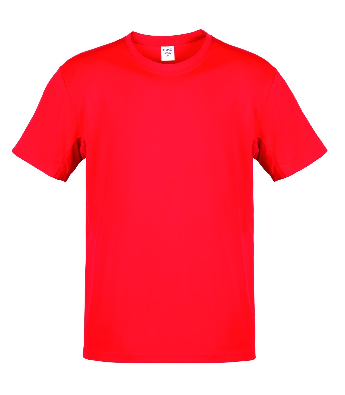 T-Shirt Adulto Côr Hecom - Vermelho / S
