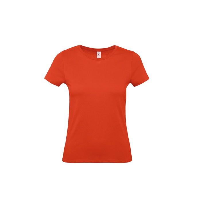 Damen T-Shirt 145 g/m² #E150 /Women T-Shirt - Fire red / XL