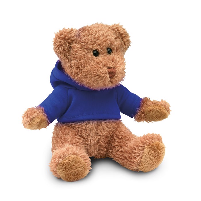 Teddy bear plus with t-shirt Johnny - Blue