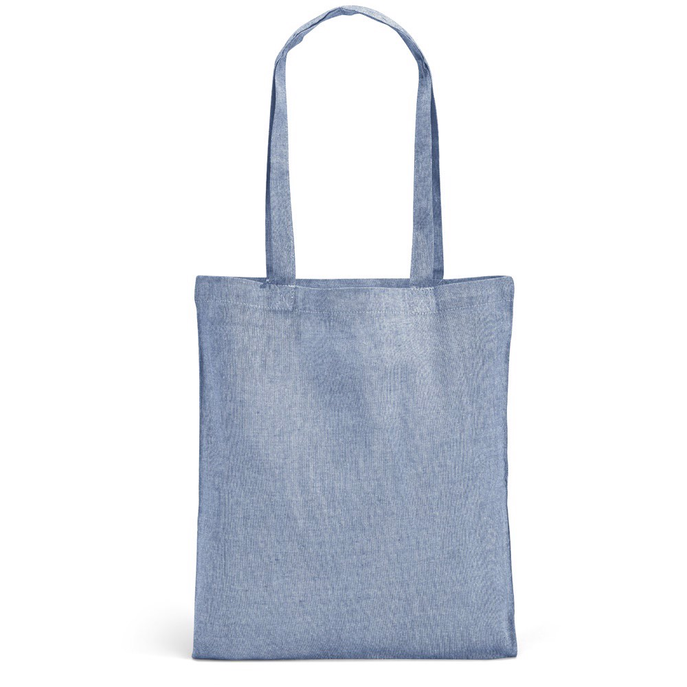 RYNEK. Bolsa de algodón reciclado - Azul