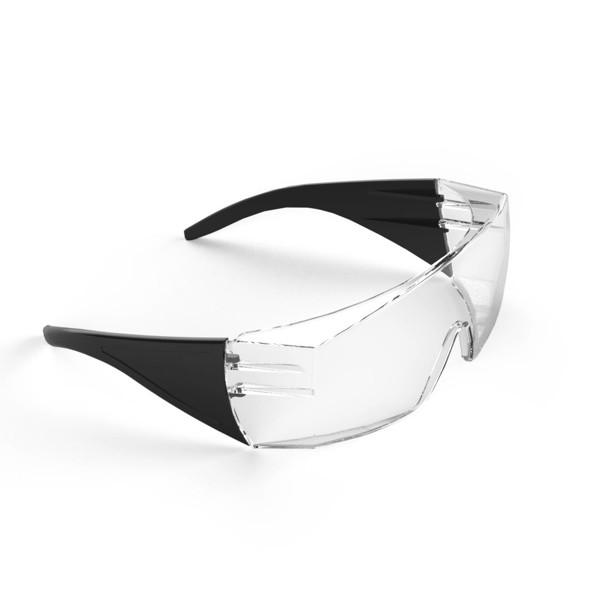 """Schutzbrille """"Safety"""" - Transparent / Schwarz"""