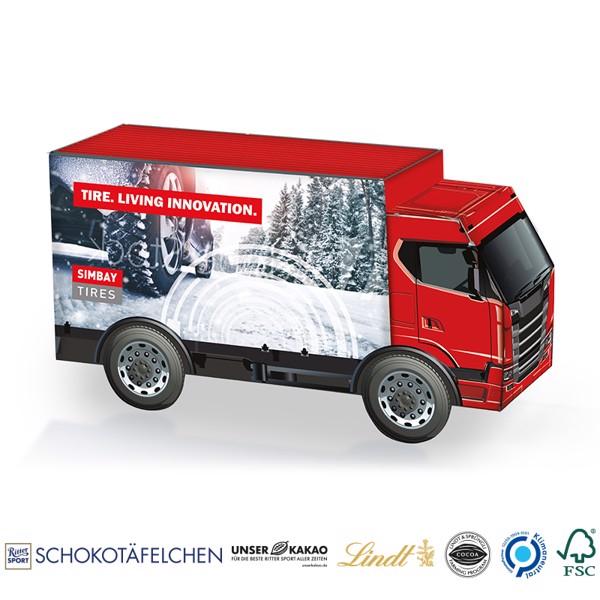 Truck Present, Cheese Crisps - White