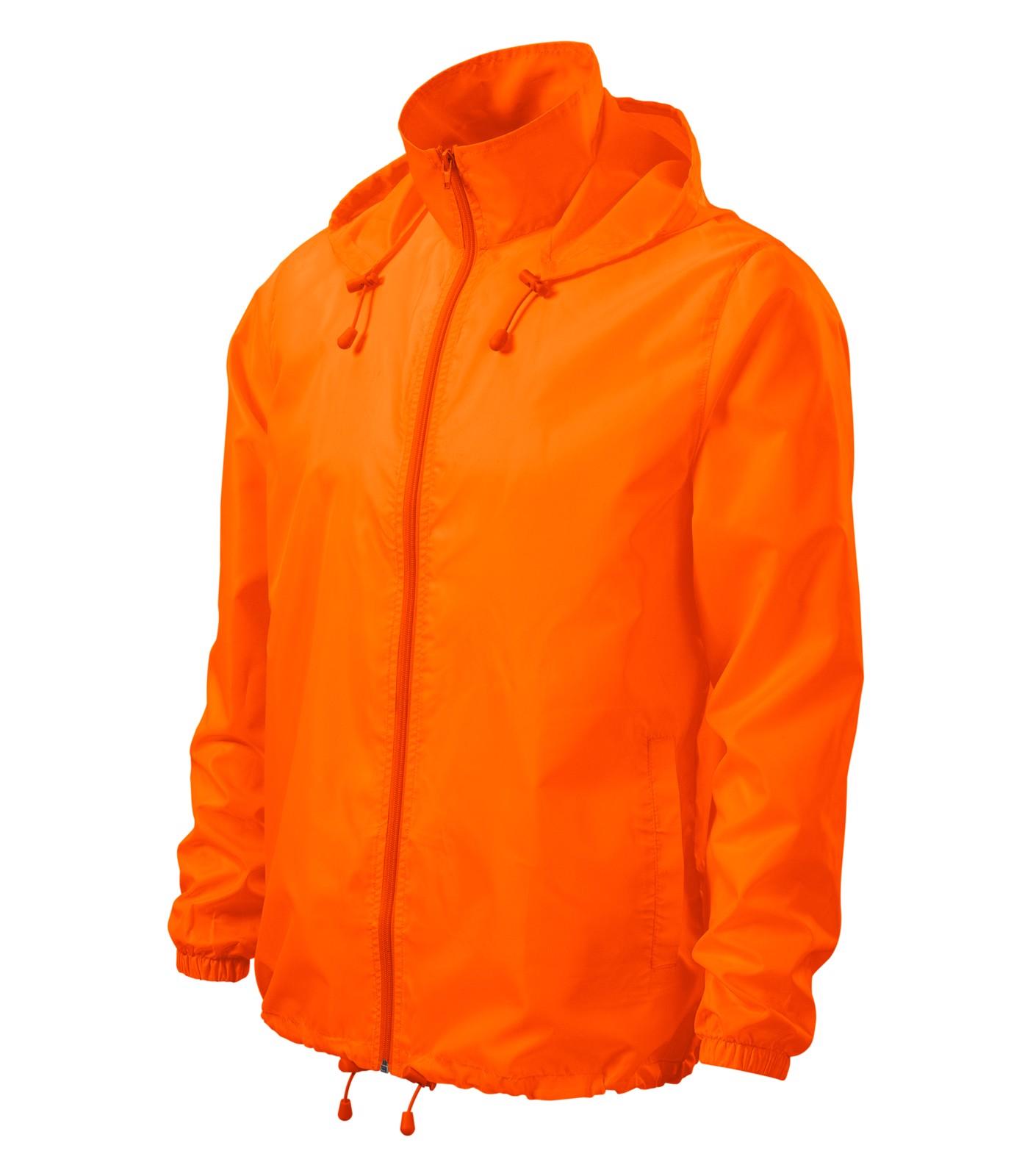 Větrovka unisex Malfini Windy - Neon Orange / 2XL