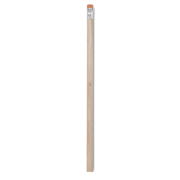 Pencil with eraser Stomp - Orange