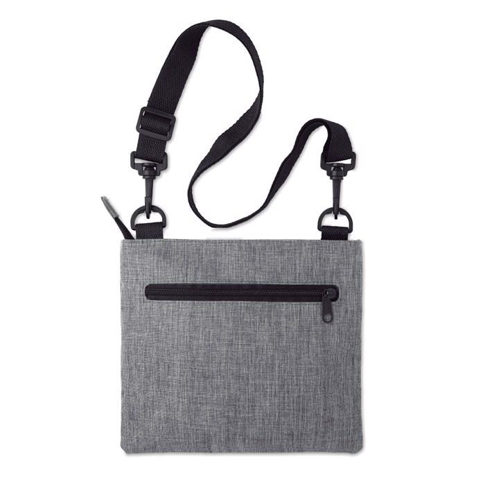 RFID travel bag with strap Manaos - Grey
