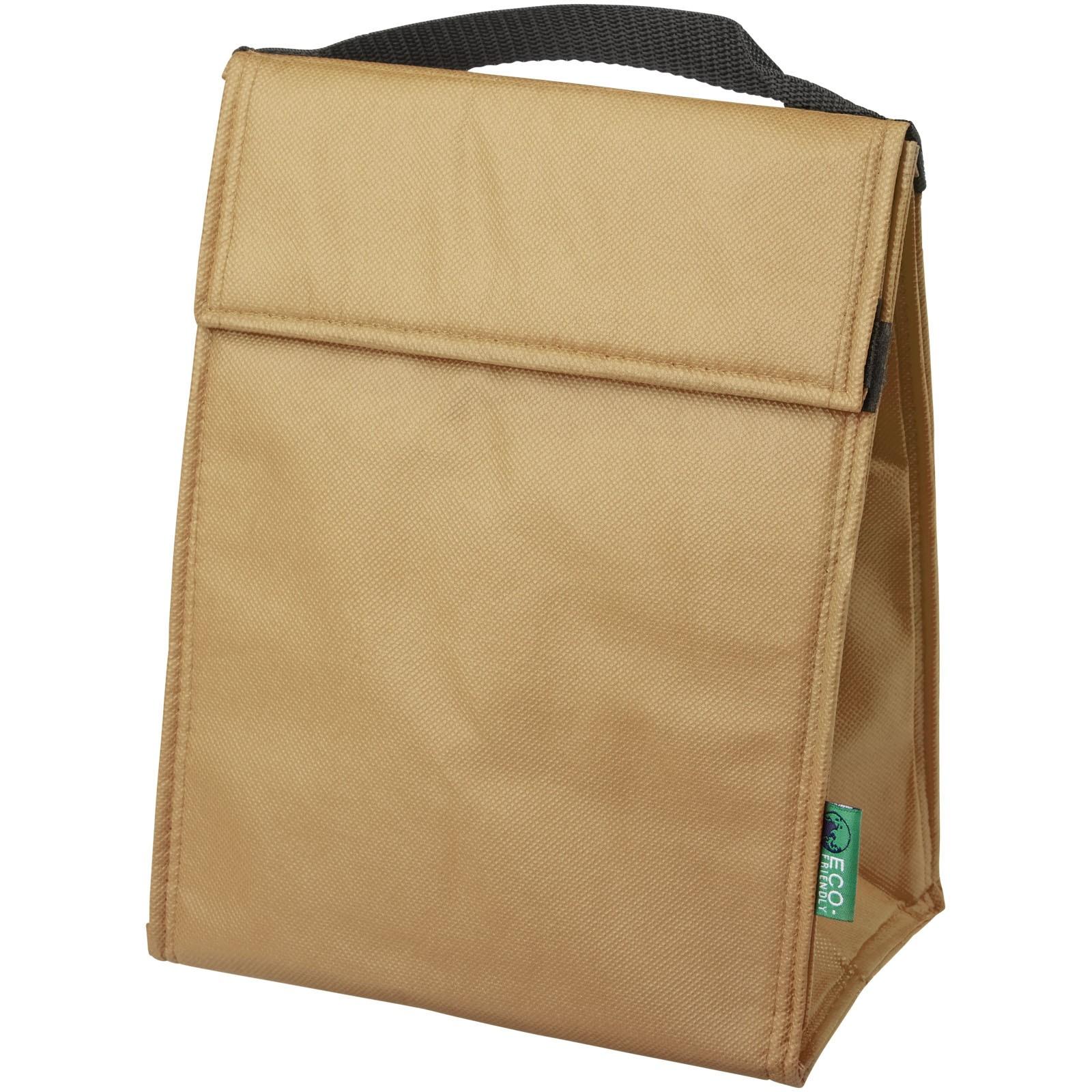 Triangle cooler bag - Natural
