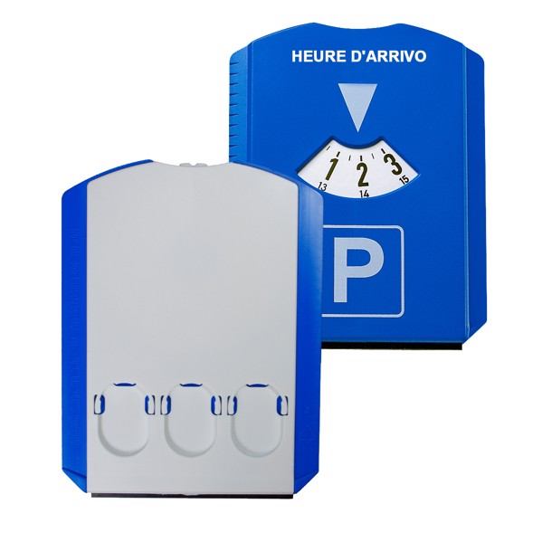 "Parking Disk ""Prime"" Without Chip - Blue / White"