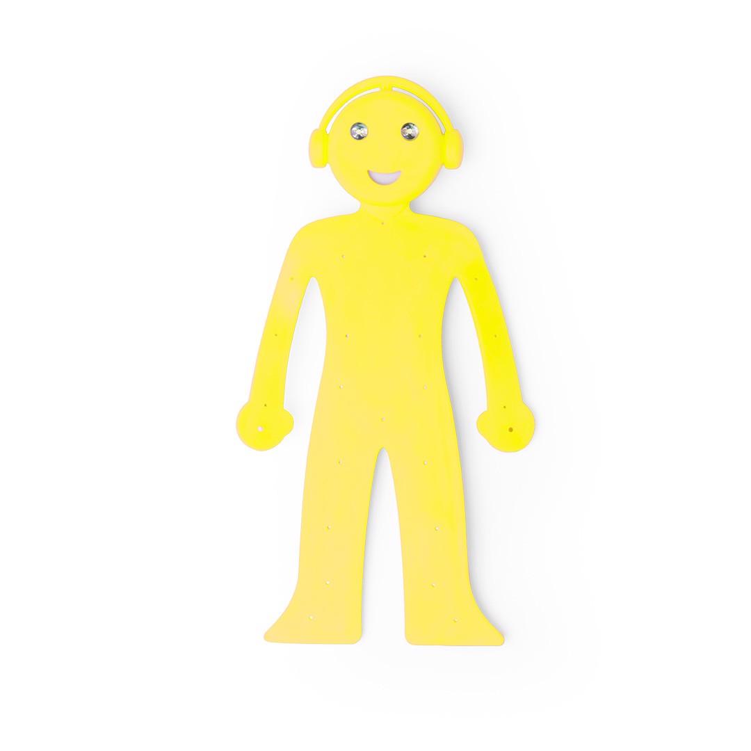 Lámpara Soporte Rapsi - Amarillo
