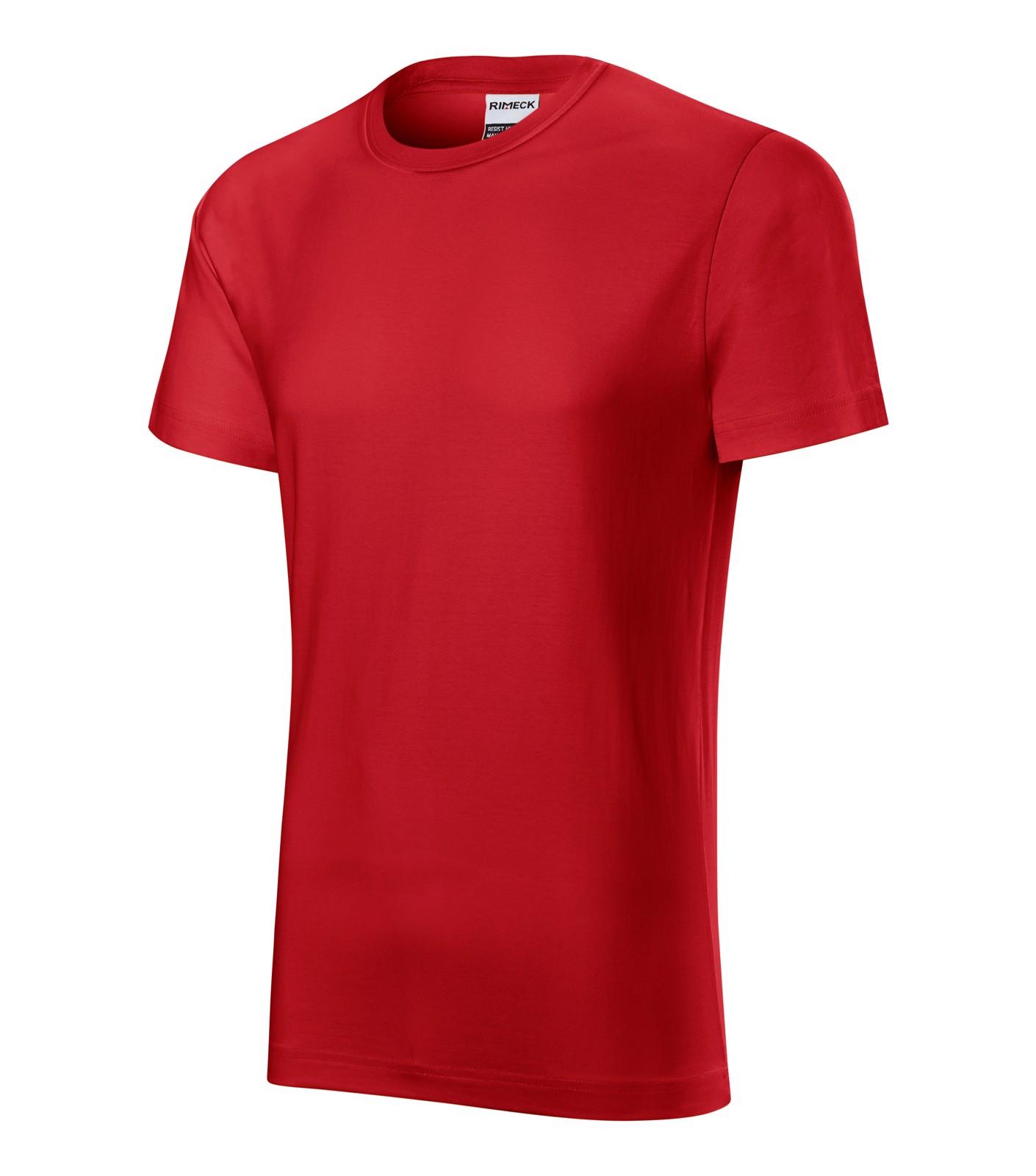 T-shirt men's Rimeck Resist heavy - Red / S