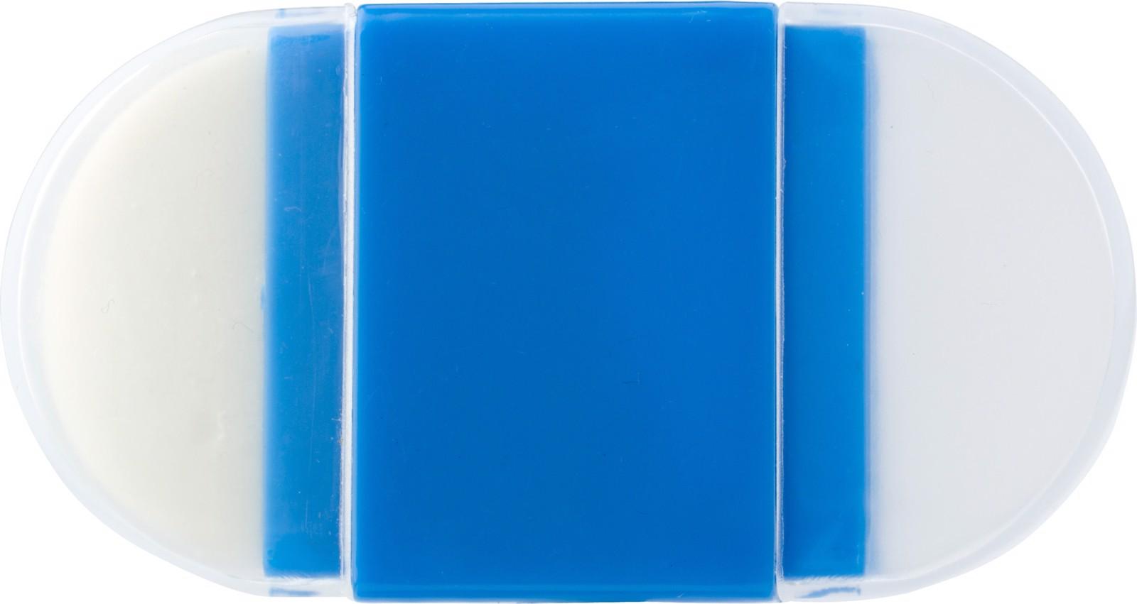 PS pencil sharpener and eraser - Cobalt Blue