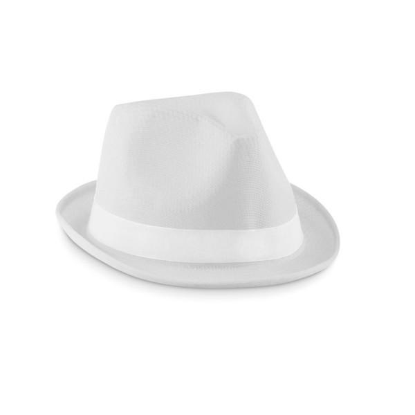 Barevný klobouček Woogie - white