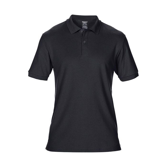 Men's Polo Shirt 207/220 g/ Dryblend Double Pique 75800 - Black / XL