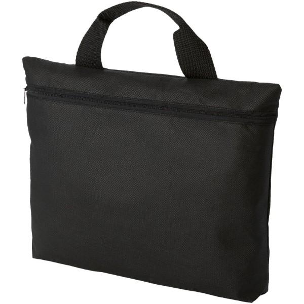 Edison non-woven conference bag - Solid black