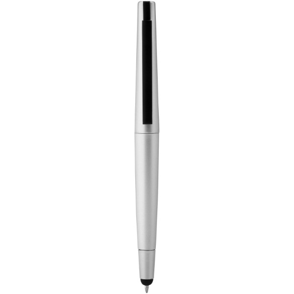 Naju stylus ballpoint pen with 4GB flash drive - Silver / 4GB