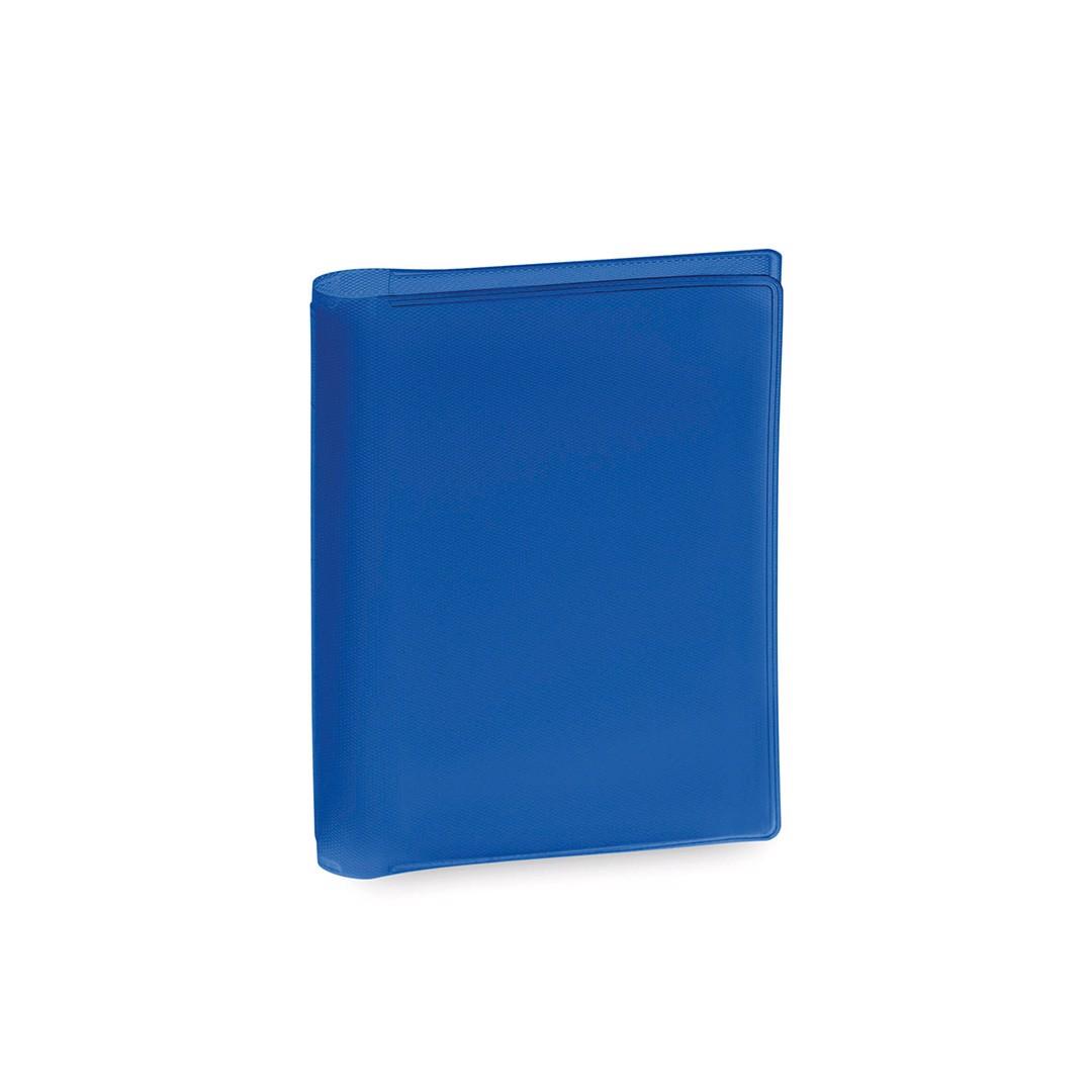 Tarjetero Letrix - Azul