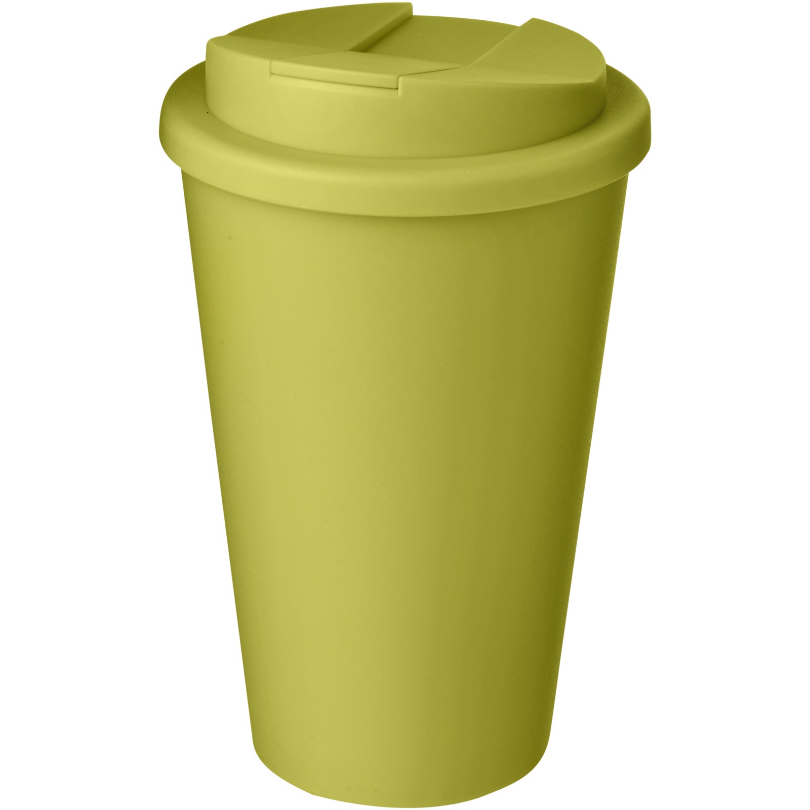 Americano® 350 ml tumbler with spill-proof lid - Lime
