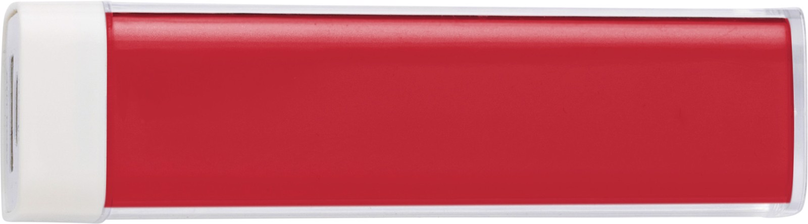 ABS power bank - Red