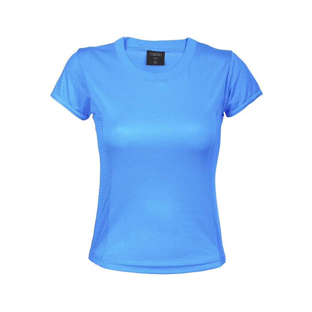 T-Shirt Mulher Tecnic Rox - Azul Claro / L