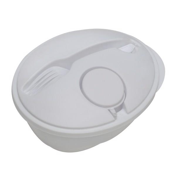 Pojemnik na sałatkę Veggy - Biały