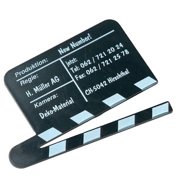 "Magnet ""Clapper Board"" - Black"