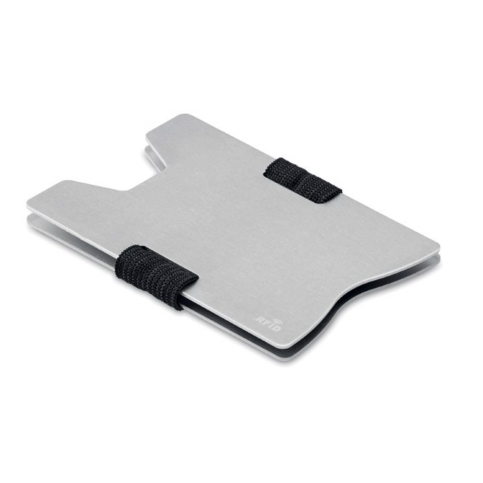 Kreditkarten-Schutz RFID Secur - silber
