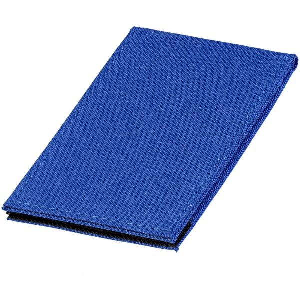 Telefonní pouzdro na karty Pose s RFID se stojánkem - Světle modrá