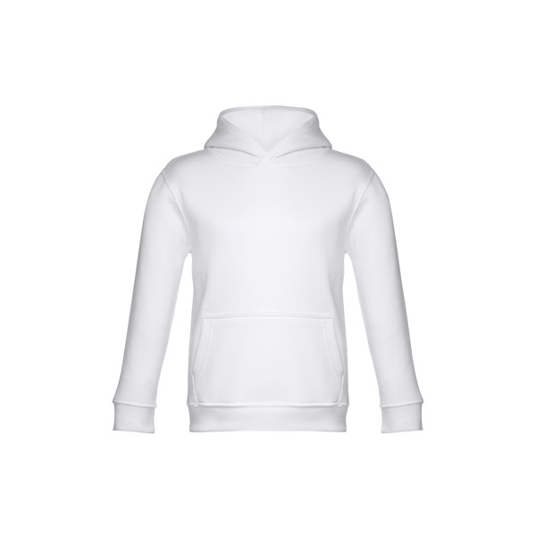 PHOENIX KIDS. Children's unisex hooded sweatshirt - White / 4