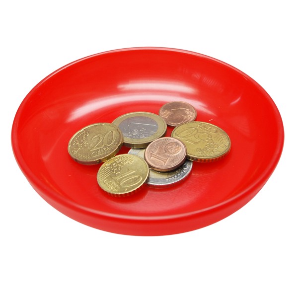 Coin Dish - Standard-Red
