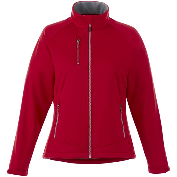 Chuck women's softshell jacket - Red / S
