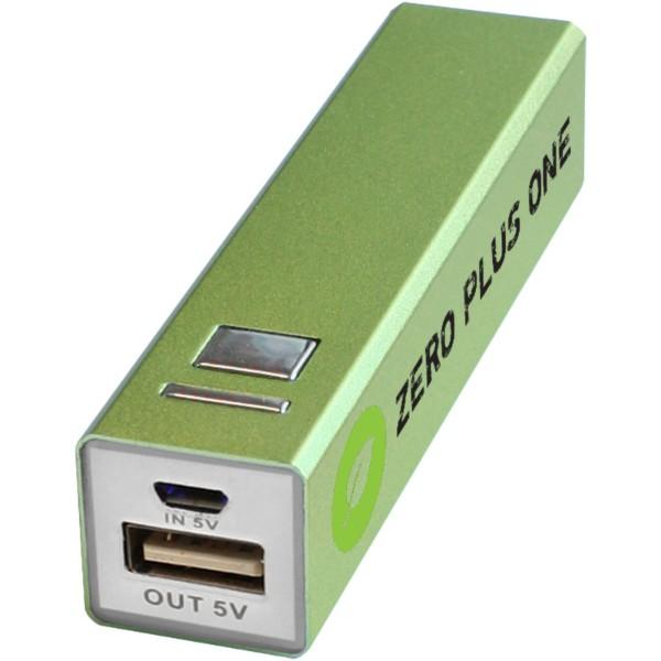 Powerbank WS101 2200/2600 mAh - Green