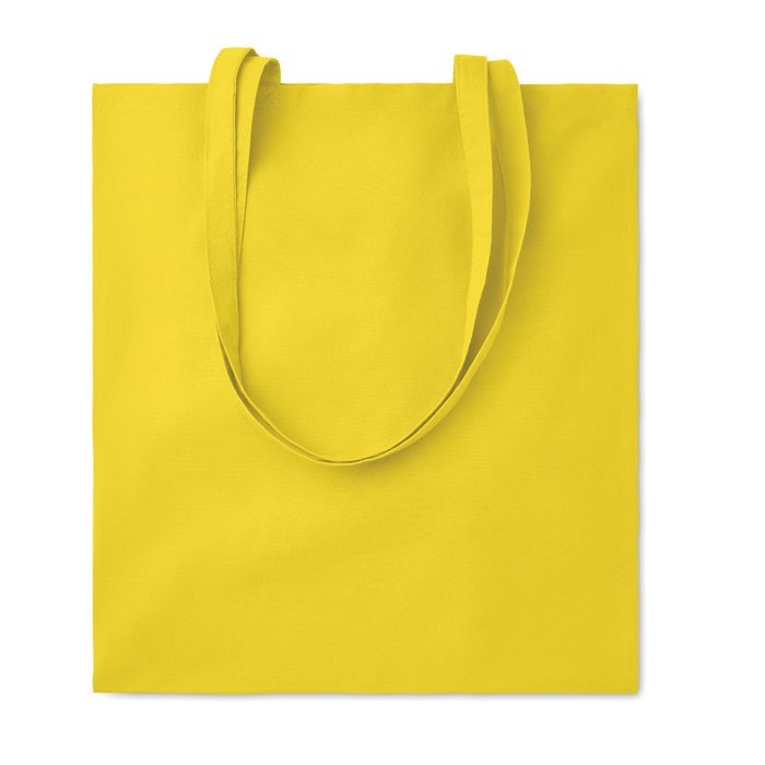 Bawełniana torba na zakupy Cottonel Colour - żółty