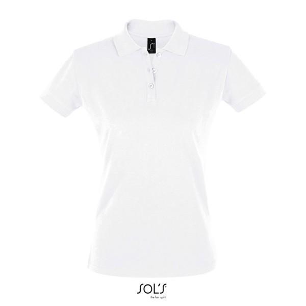 PERFECT-női póló 180g Perfect Women - White / XXL