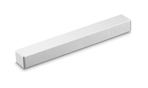 WASS. Hliníkové kuličkové pero s otočným mechanismem - Bílá