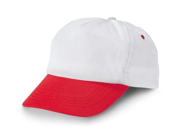 STEFANO. Cap - Red