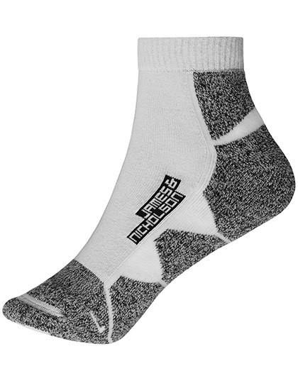 Sport Sneaker Socks - White / White / 45-47
