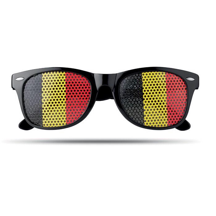 Sunglasses country Flag Fun - Black