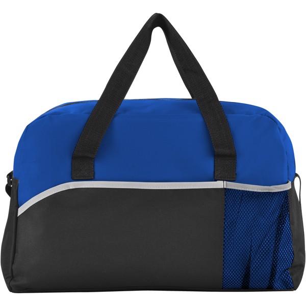 Plátěná taška Energy - Černá / Světle modrá
