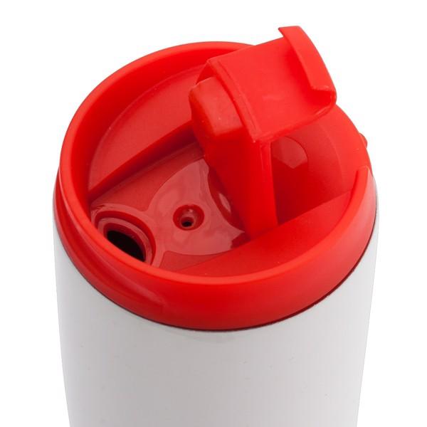 Kubek izotermiczny Fresvik 390 ml - Czerwony
