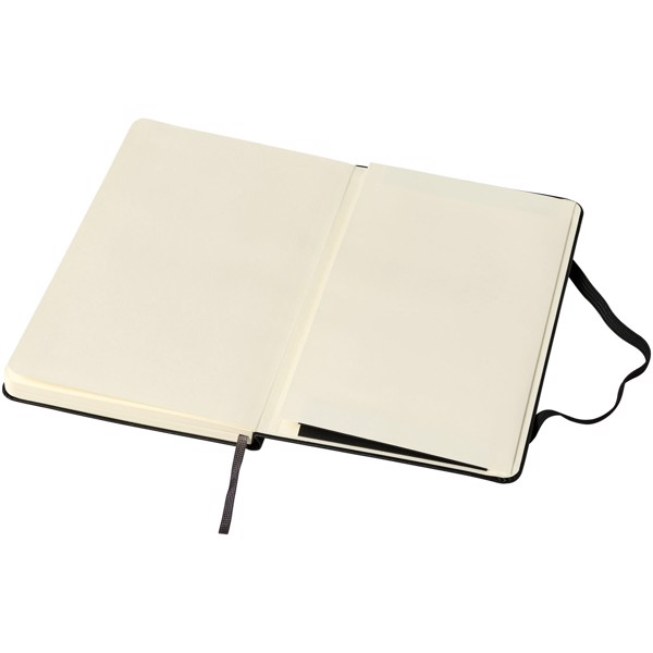 Classic M hard cover notebook - ruled - Solid Black