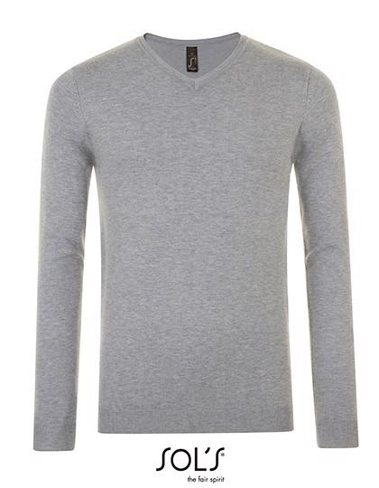 Glory Men Sweater - Grey Melange / 3XL