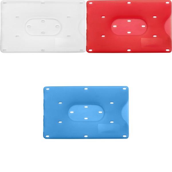 PP card holder - Light Blue