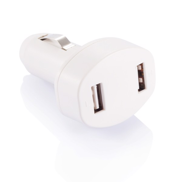 Double chargeur allume-cigare USB