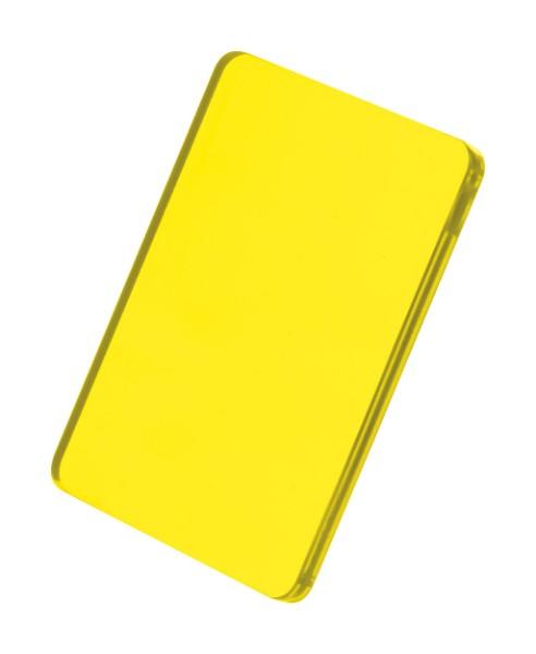 Přívěšek Na Klíče CreaFob - Průhledná Žlutá
