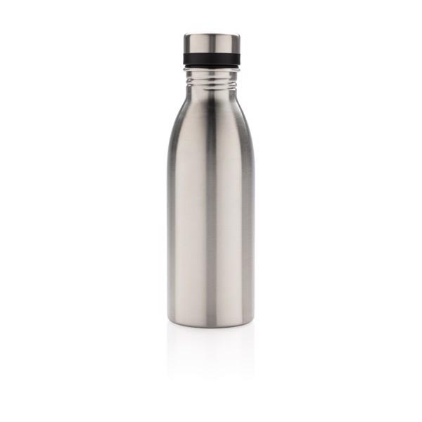 Láhev na vodu z nerezavějící oceli - Stříbrná