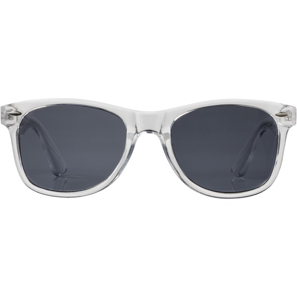 Sun Ray sunglasses with crystal frame - Transparent clear